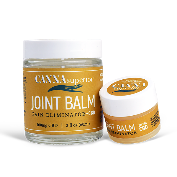 Canna superior pain relief balm jars
