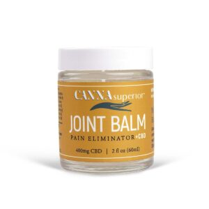 pain relief balm joint balm from canna superior 400 mg